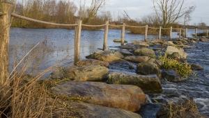 Wasser Wander Weg