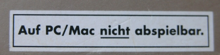 nicht abspielbar